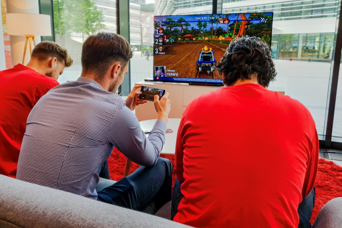 Vodafone and Hatch launch 5G streaming games service in Germany