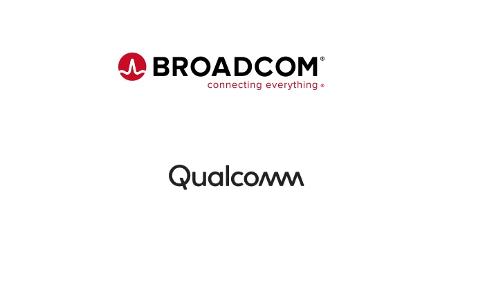 Broadcom, Qualcomm
