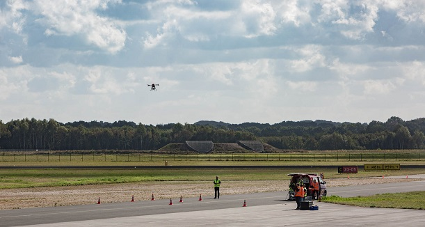 Nokia S Drones Take Off At Twente Airport In Traffic Management Test