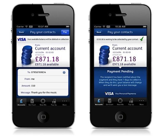 Visa debuts person-to-person, multi-currency mobile payments in Europe