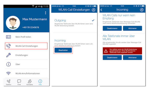 how to call o2 from my mobile