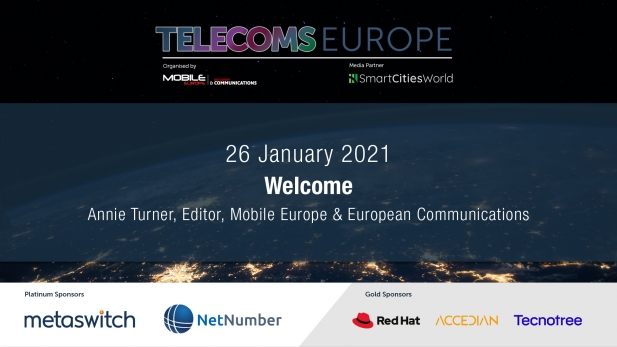 Telecoms Europe 2021 – Welcome by Annie Turner, Mobile Europe