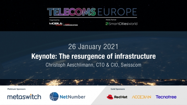 Telecoms Europe 2021 – Keynote: The resurgence of infrastructure, by Swisscom