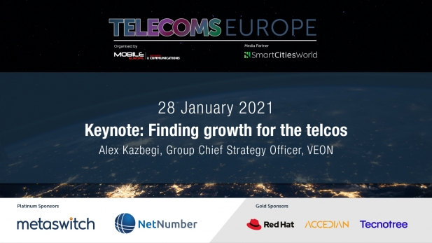 Telecoms Europe 2021 – Keynote: Finding growth for the telcos, by VEON