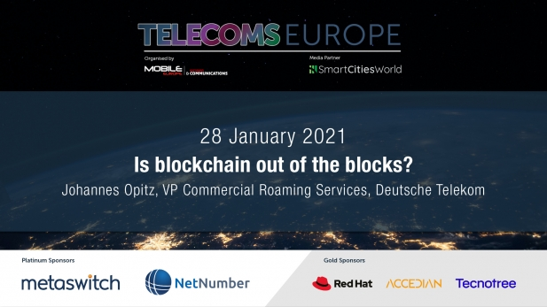 Telecoms Europe 2021 – Is blockchain out of the blocks? by Deutsche Telekom