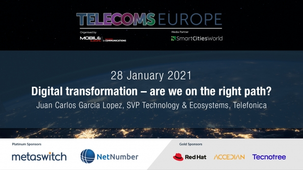 Telecoms Europe 2021 – Digital transformation – are we on the right path? By Telefonica