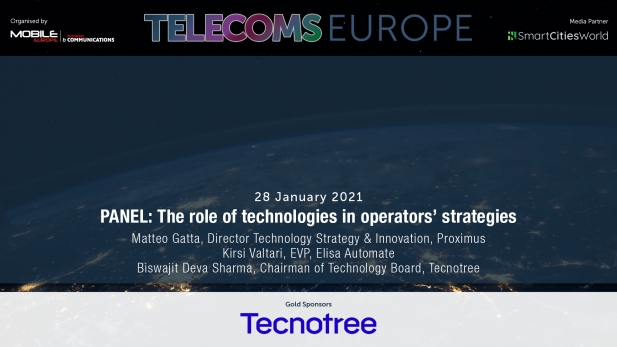 Telecoms Europe 2021 – PANEL: The role of technologies in operators' strategies, by Tecnotee, Proximus, Elisa Automate