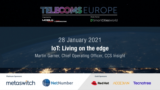 Telecoms Europe 2021 – IoT: Living on the edge, by CCS Insight