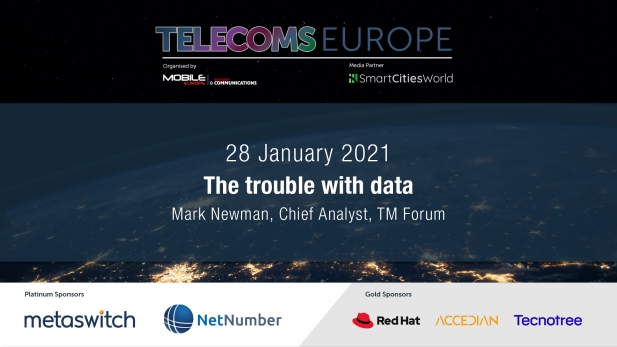 Telecoms Europe 2021 – The trouble with data, by TM Forum