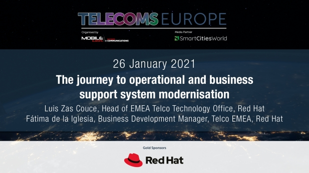 Telecoms Europe 2021 – The journey to operational and business support system modernisation, by Red Hat