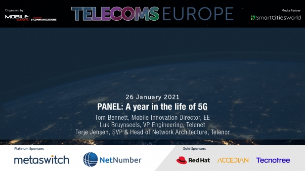Telecoms Europe 2021 – PANEL: A year in the life of 5G, by EE, Telenet, Telenor
